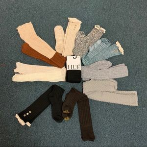 NWOT Boot socks over the knee and knee length